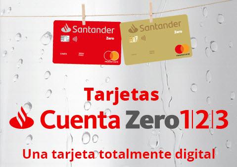 cuenta zero 123 tarjetas