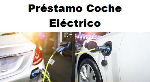prestamo coche electrico